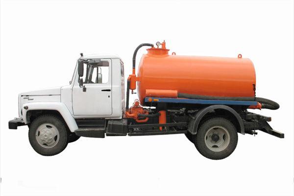 Ассенизаторская машина на базе газ 3309