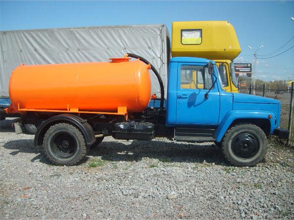 Ассенизаторская машина газ 53