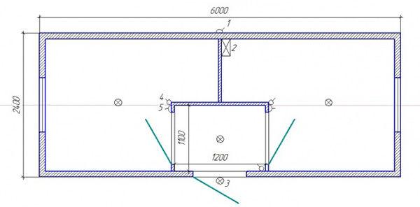 Размеры строительной бытовки по ГОСТ