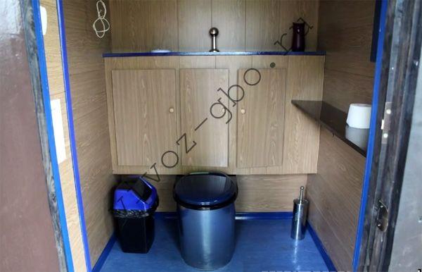 Туалет без ямы своими руками 881