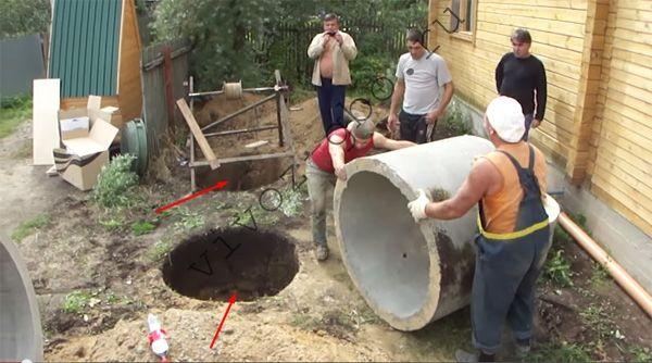 Туалет из колец своими руками 560
