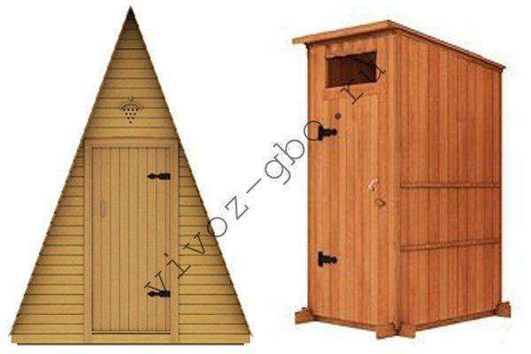 Дачные туалеты деревянные своими руками размеры фото 241