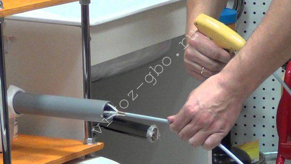 Устранить засор в канализационной трубе в домашних условиях 82