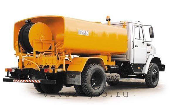 Каналопромывочная машина КО-502Б-2 для очистки засоров