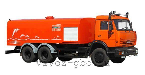 Каналопромывочная машина КО-512 для очистки засоров