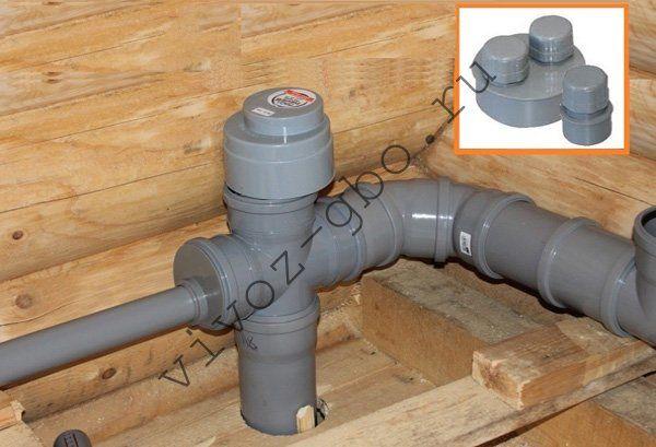 Клапан на канализационный