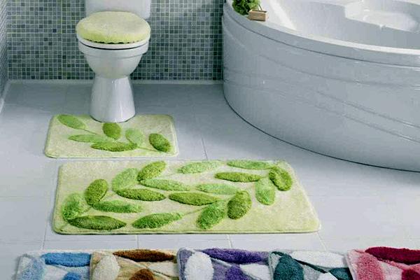 Коврики для ванной и туалета: вязаные коврики крючком ...