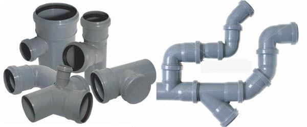 Соединение канализационных