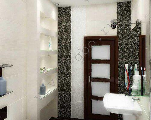 Полки в ванную и туалет из гипсокартона