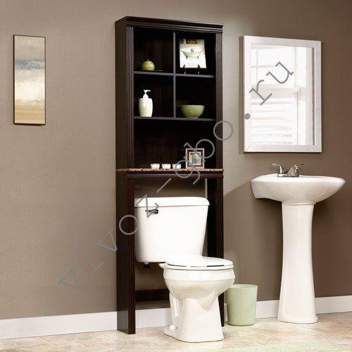 сантехнический шкаф из дерева в туалете своими руками