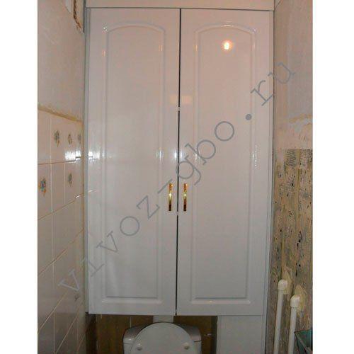 Сделать шкаф в туалете из ЛДСП