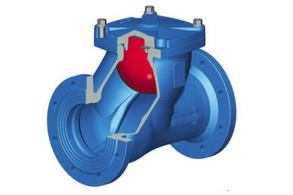Клапан обратный канализационный 50