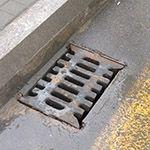 Ливневая канализация на дорогах