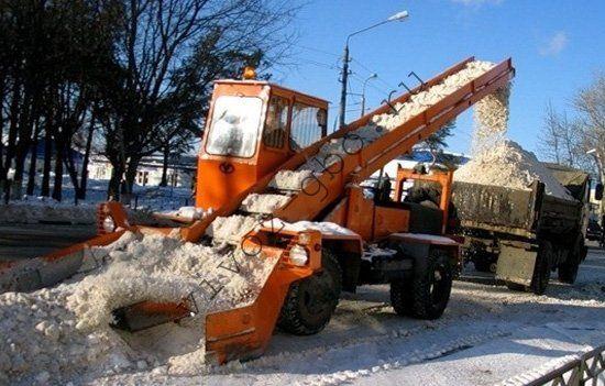 Движок для уборки снега с крыши