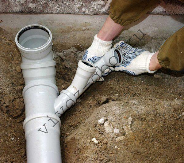 Монтаж канализации пвх своими руками