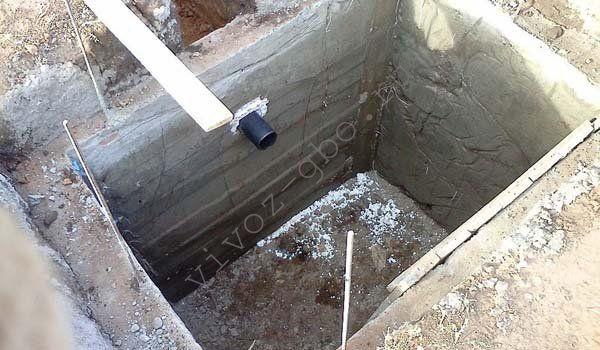 Выгребная яма своими руками без откачки видео