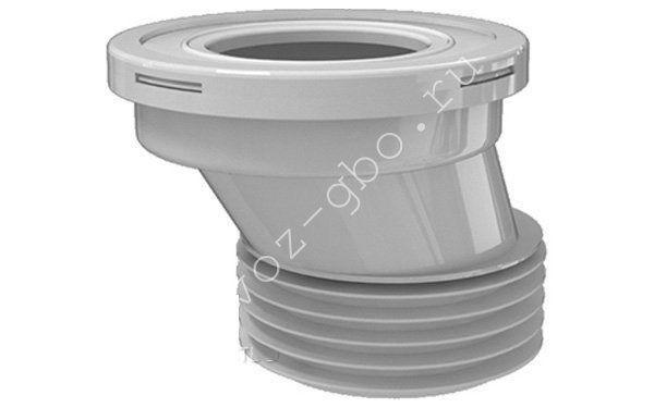 Эксцентриковая манжета для канализационных труб