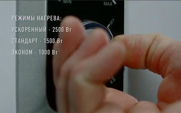 Особенности управления нагревом водонагревателя Polaris