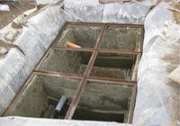 Выгребная яма с переливом в частном доме
